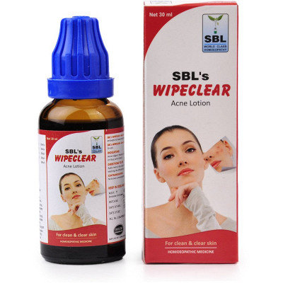 SBL Wipeclear Acne Lotion (30ml) Pack of 6