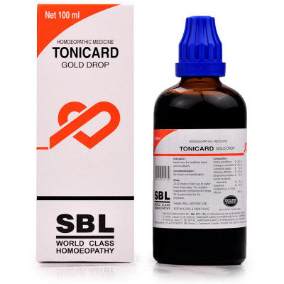 SBL Tonicard Drops (100ml) Pack of 2
