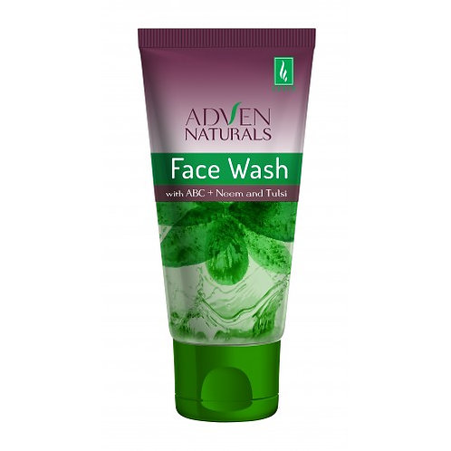 Adven Naturals FACE WASH WITH ABC Pack of 3