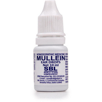 SBL Mullein Ear Drops (10ml) Pack of 10