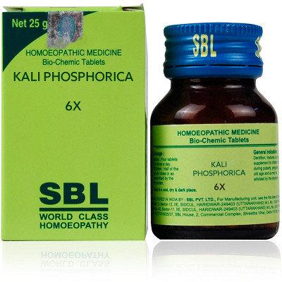 SBL Kali Phosphorica 6X (25g) Pack of 4