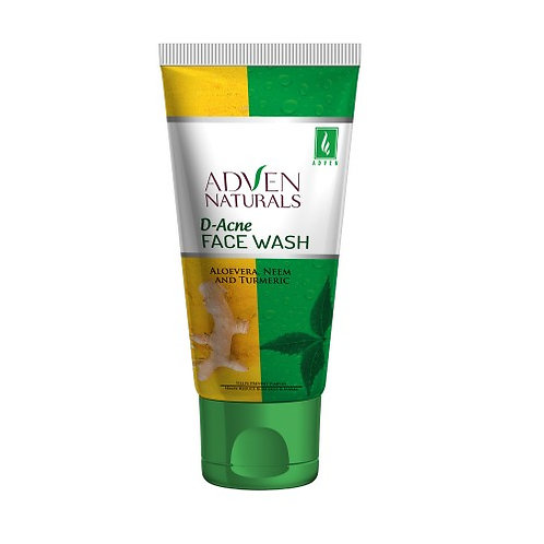 D-ACNE FACE WASH WITH ALOEVERA, NEEM & TURMERIC Pack of 2