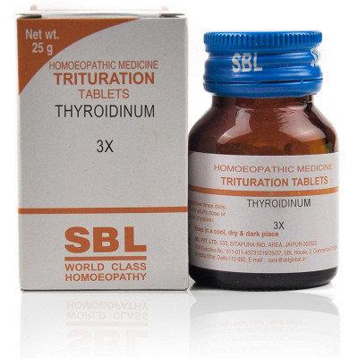 SBL Thyroidinum 3X (25g) Pack of 3