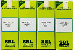 SBL Arsenic Album Dilution 30 CH Pack of 4