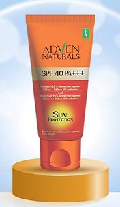Adven Naturals Sun Protection Cream Pack of 2