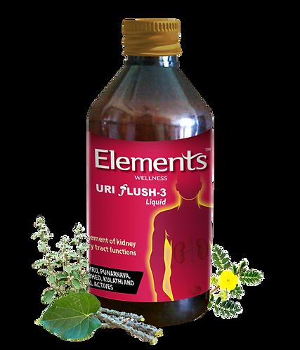 Elements Uri Flush 3 Liquid 200 ml Pack of 2