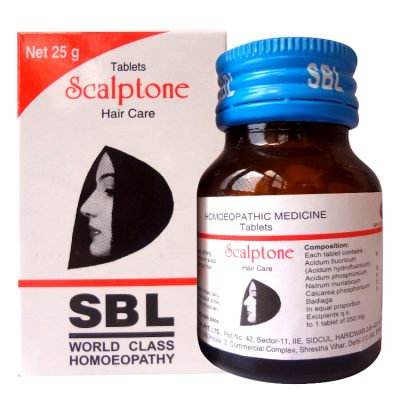 SBL Scalptone Tablet(25 Gm) Pack of 3
