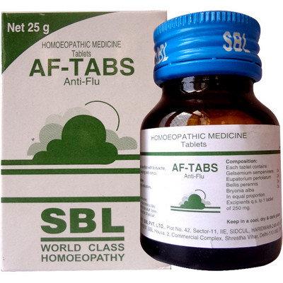 SBL AF Tabs (25g) Pack of 4