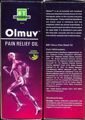 WSI B&T Olmuv Pain Relief Spray Pack of 4