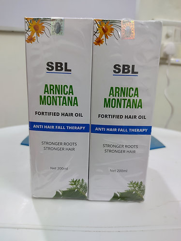 Sbl Arnica Montana Fortified Hair Oil Pack of 3
