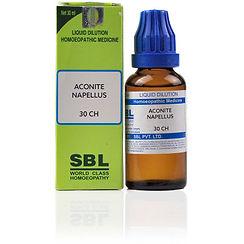 SBL Aconite Napellus 30 CH (30ml) Pack of 4