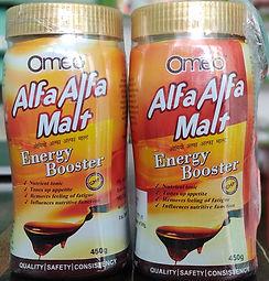 B Jain Omeo Alfa Alfa Malt (450g) Pack of 2 for Immunity