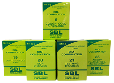 SBL Bio-Combination Tablet (1-28) Pack of 4