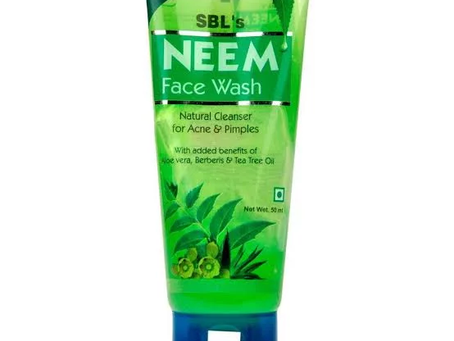SBL Neem Face Wash (100 ml) For Acne