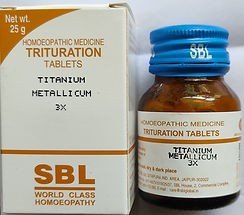 SBL Titanium Metallicum 3X (25g) Pack of 3