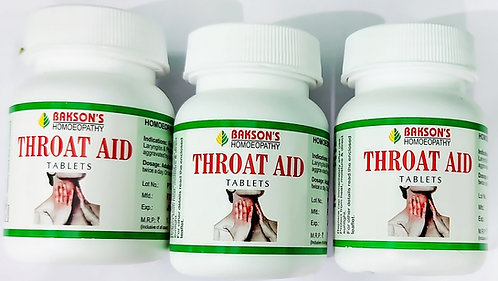 Bakson's Throat Aid Tablets Pack of 3