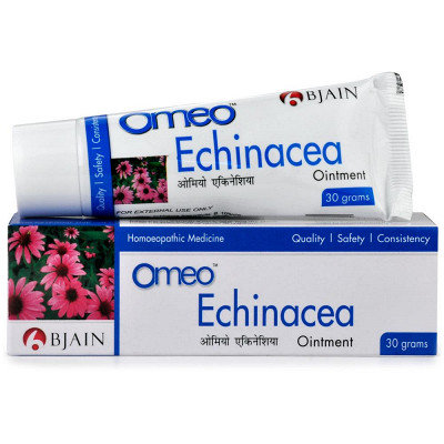 B Jain Omeo Echinacea Ointment (30g) Effective in Boils, Ulcers, wound pain