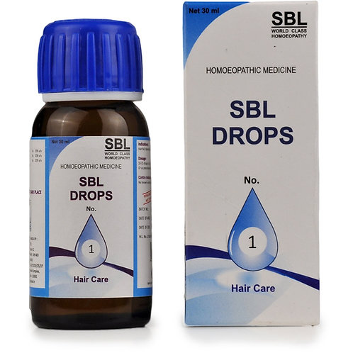 SBL Drops No. 1 (For Hair Care) Pack of 3