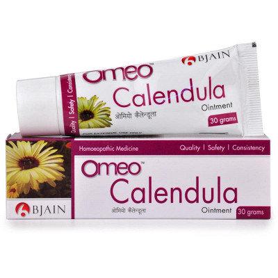 B Jain Omeo Calendula Ointment (30g) Pack of 10