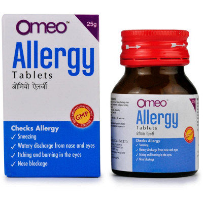 B Jain Omeo Allergy Tablets (25g) Pack of 3