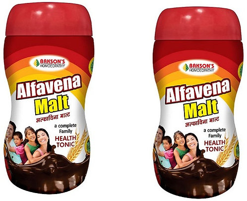 Bakson Alfavena Malt (500g) Pack of 2