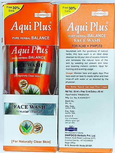 Hapdco Aqui Plus Face Wash (50ml) Pack of 5
