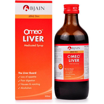 B Jain Omeo Liver Syrup (200ml) Pack of 3