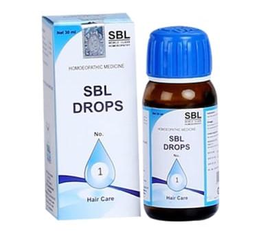 SBL DROPS NO 1 FOR HAIR FALL & DANDRUFF