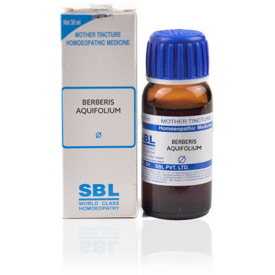 SBL Berberis Aquifolium Mother Tincture Q Pack of 2