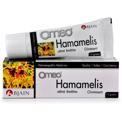 B Jain Omeo Hamamelis Ointment (15g) Pack of 10