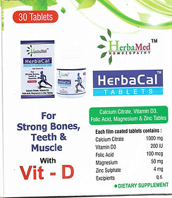 HerbaMed Herbacal With Vitamin D3 Pack of 3