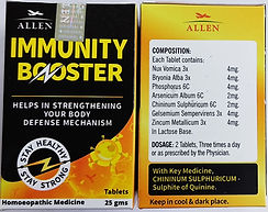 Allen Immunity Booster Pack of 3