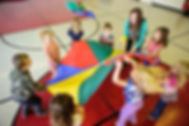 Photo of kids playing at gym time