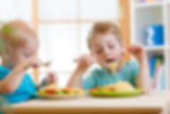 Photo of kids eating
