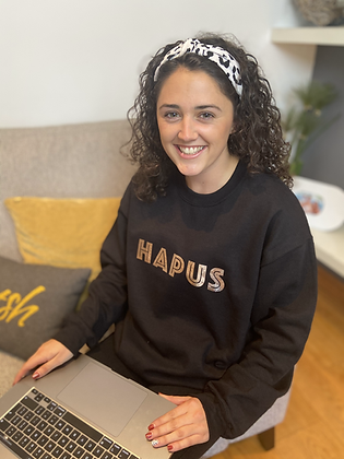 Hapus Black Sweatshirt