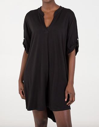 Jersey Shirt Dress
