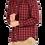 Thumbnail: Long Sleeve Check Shirt (Red/Navy)