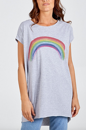 Rainbow Two Pocket Jersey Top