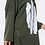 Thumbnail: Brush Stroke Zip Hem Top