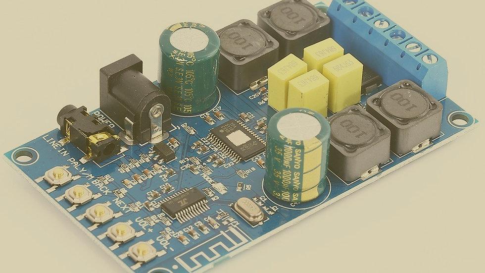 50Wx2 Bluetooth Digital Amplifier