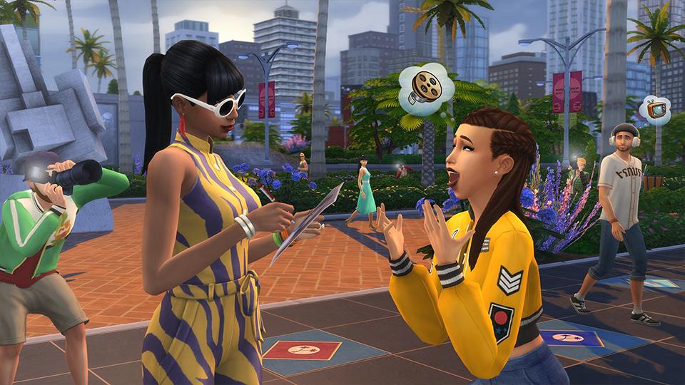 Die Sims 4 Werde berühmt  Screenshot