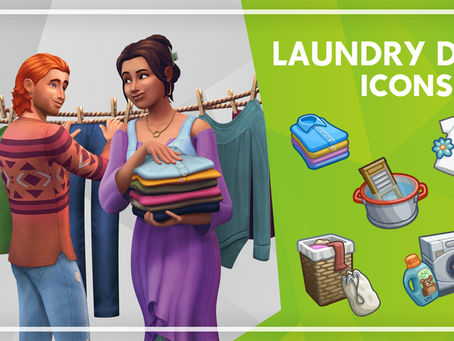Waschtag-Icons und Wallpaper zum Download!