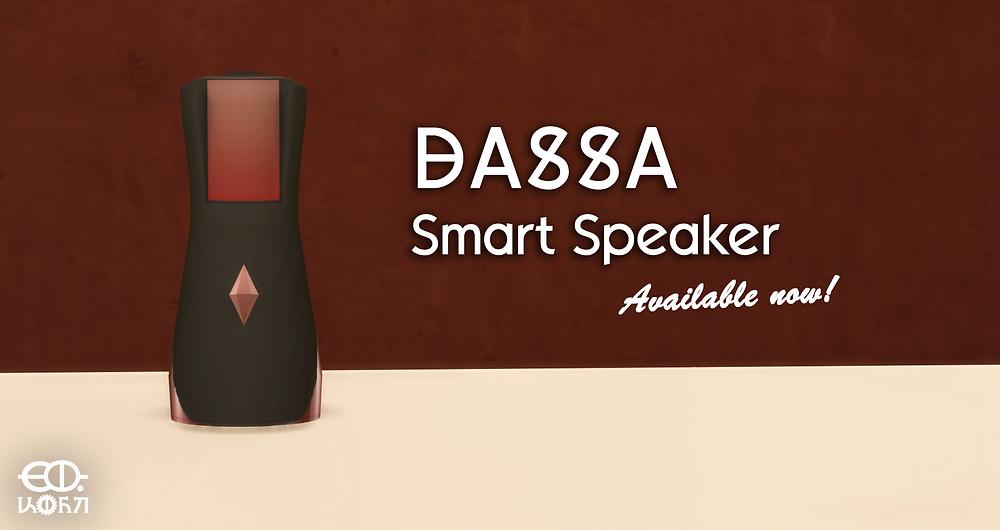 The Sims 4 DASSA Smart Speaker by DerShayan