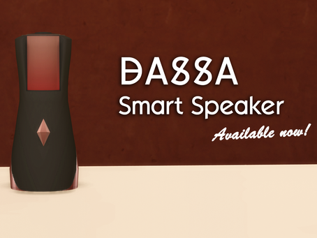 DASSA Smart Speaker - available now!