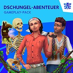 Die Sims 4 Dschungel-Abenteuer Gameplay-Pack