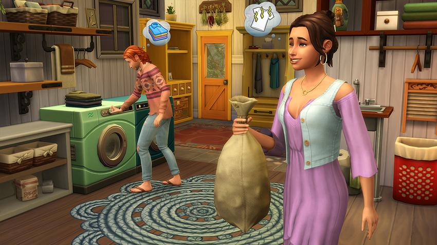 Die Sims 4 Waschtag-Accessories