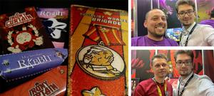 DerShayan auf der Gamescom 2018 am Stand von Artifex Mundi