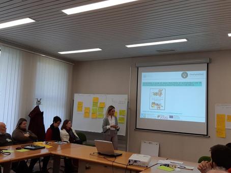 """Apresentação do GO """"FitoFarmGest"""" na 2ª Reunião do Grupo Focal do EIP-Agri"""