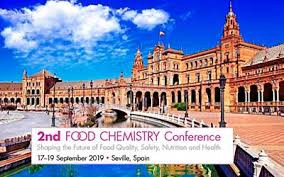 2nd Food Chemistry Conference 2019