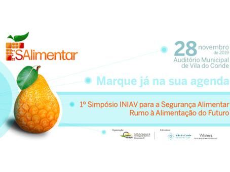 O GO Serpaflora marcou presença na 1ª edição do Simpósio INIAV para a Segurança Alimentar